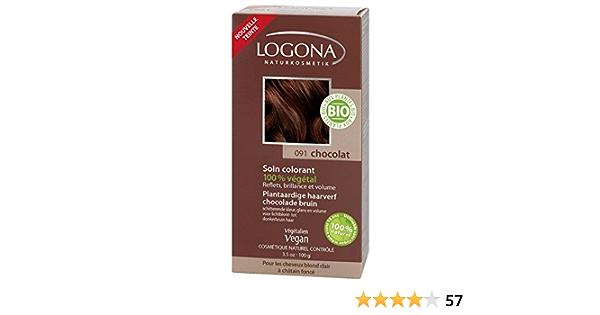 Logona Colorante Veg. 091 Castaño Choco 100G Logona 400 g ...