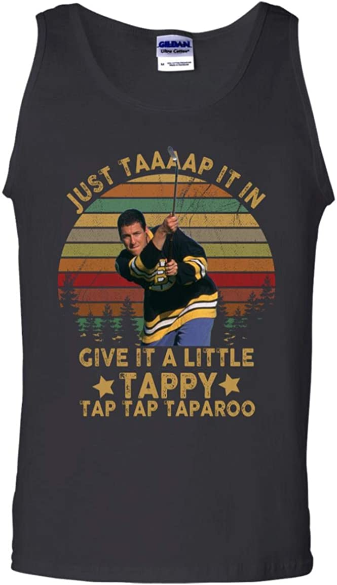 GearPowers Just Tap It in Give It A Little Tappy Tap Tap Vintage Happy Gilmore Men Tank Top