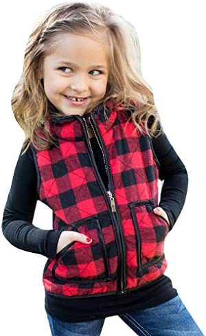 Girls Buffalo Cotton Plaid Quilted product image