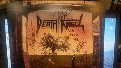 (DEATH ANGEL rare signed 12x12