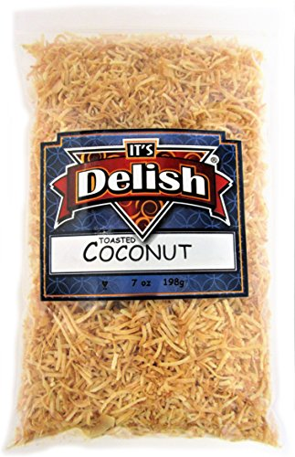 Roasted Unsweetened Coconut Fancy Shred by Its Delish, 1 lb