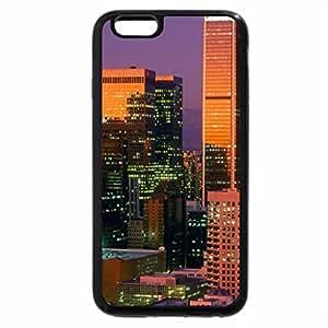 iPhone 6S / iPhone 6 Case (Black) sundown on downtown los angeles