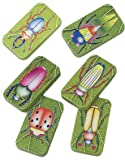 US Toy Assorted Insect Bug Design Clicker Noise Makers (1 Dozen), Green, 1-Pack of 12