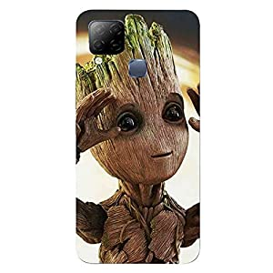 Groot Back Cover for Infinix Hot 10s