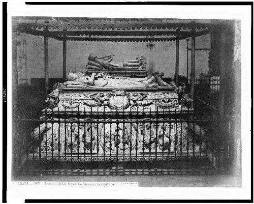 Photo: King Ferdinand V,Queen Isabella I Tomb,Granada Spain