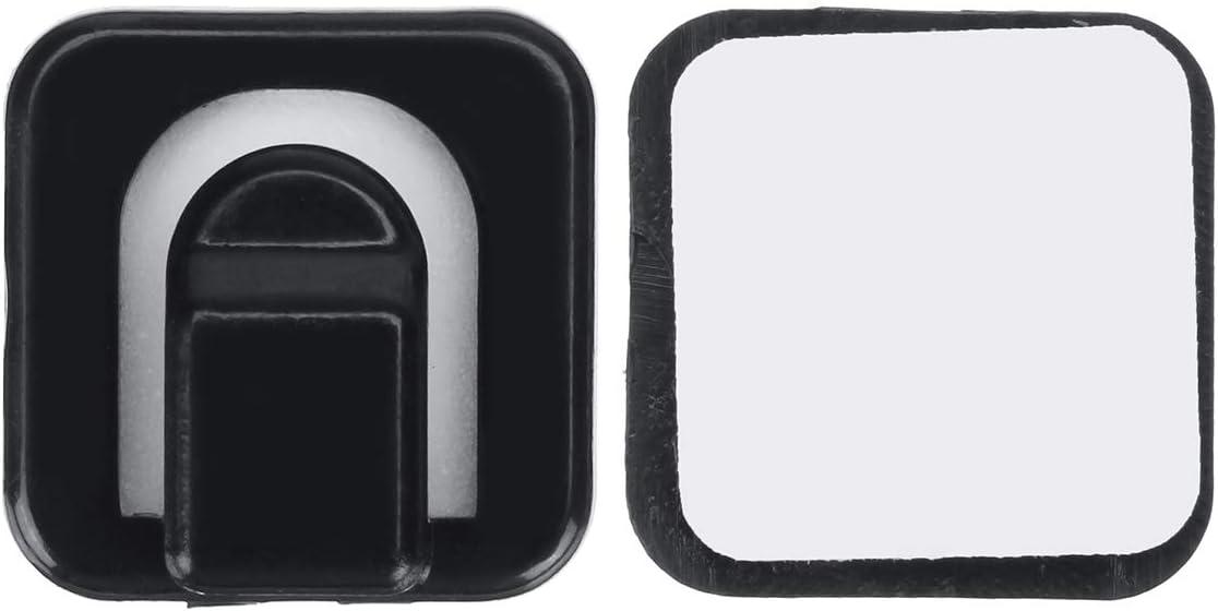 C-FUNN Attaches De C/âble DUsb De C/âble De Voiture De Rectangle 18Pcs Fixes Pince Auto-Adh/ésives Bleu