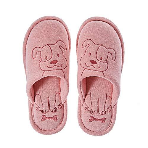 Casa Rosa Ciabatte Animati Scarpe Da Dei Donna Pantofole In Cartoni Paio Cotone wPwx0