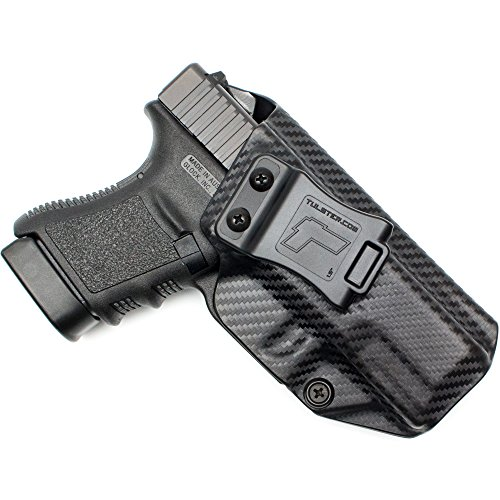 Tulster Glock 29/29sf/30/30sf Holster IWB Profile Holster (Black Carbon Fiber - Right Hand) (Best Concealed Carry Holster For Glock 30sf)