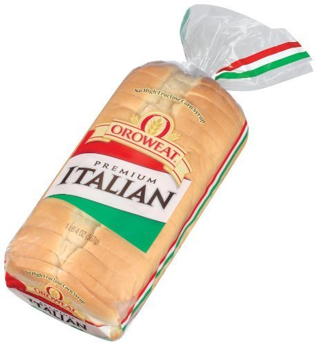Amazon Com Oroweat Italian Bread 20 Oz Loaf Pack Of 2 Grocery Gourmet Food