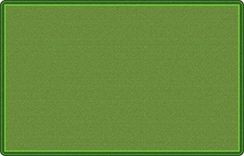 Flagship Office Classroom Decorative All Over Weave Green Floor Rug Nylon Rectangle 7'6 x 12' [並行輸入品] B07N8BXNSF