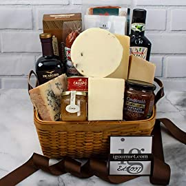 Italian Premier Gourmet Gift Basket 1 A basket so large and impressive it garners more accolades than almost anything else we sell. It includes these spectacular, memorable specialties: