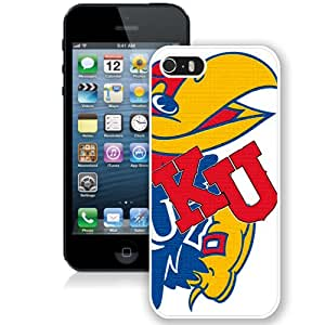 Hot Sale iPhone 5 5S Cover Case Big 12 Conference Big12 Football Kansas Jayhawks 6 Protective Cell Phone Hardshell Cover Case For iPhone 5 5S White Unique And Durable Designed Phone Case