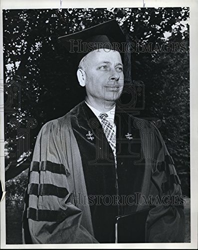 1963 Press Photo Stephen K. Bailey Dean of the Maxwell Graduate - Maxwell Bailey