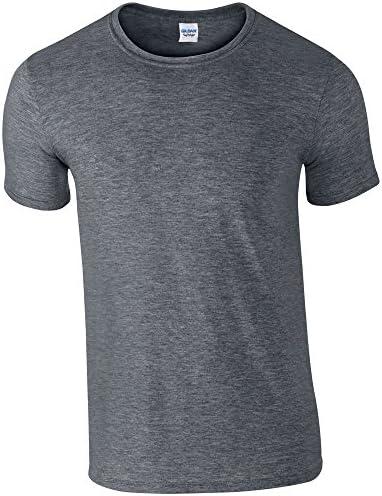 Gildan Mens Soft Style Ringspun T Shirt