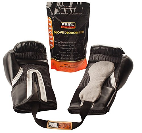 Glove Deodorizer for Boxing and All Sport – 20% Larger Than Any Other Glove Dog – Unique Shape Absorbs More Stink and Keeps Glove Fresh