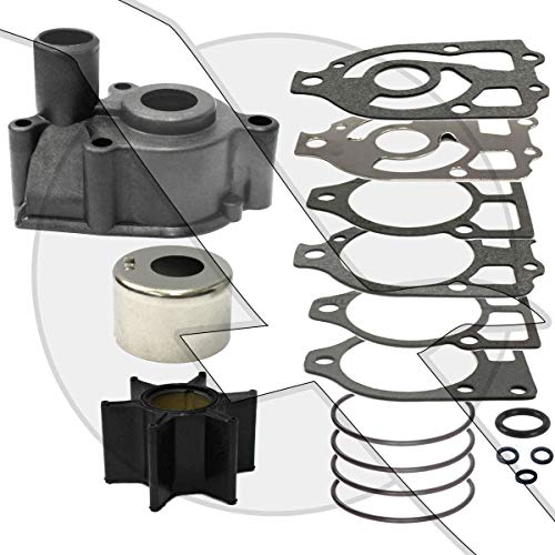 (Water Pump Impeller Kit for Mercury Mercruiser Alpha One 46-96148A8 46-96148Q8)