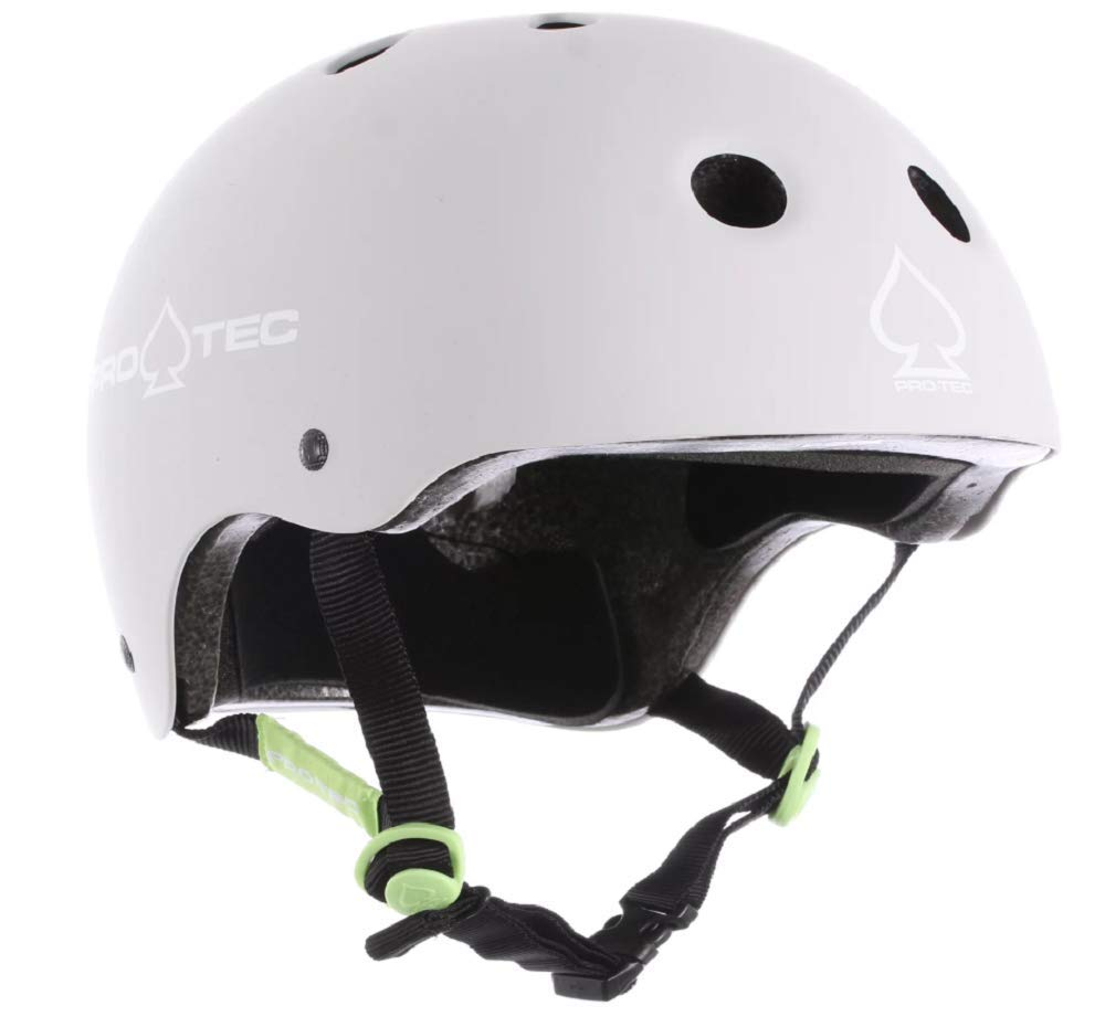 Pro-Tec Classic Skate Helmet (Matte Light Gray, X-Small)
