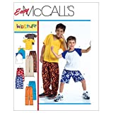 McCall's Patterns M4364 Children's/Boys' T-Shirts, Shorts In 2 Lengths and Pants, Size Y (XSM-SML)