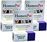 Product review for Homeopet Feline Cat Digestive Upsets (Pack of 3) 15ml