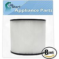 8-Pack Replacement Shop-Vac SL14-600C Vacuum Cartridge Filter - Compatible Shop-Vac 90304 Cartridge Filter