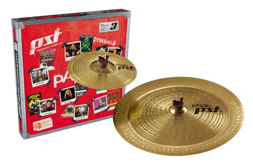 Paiste PST 3 Cymbal Effects Pack Set Only Setup 10-inch/18-inch by Paiste