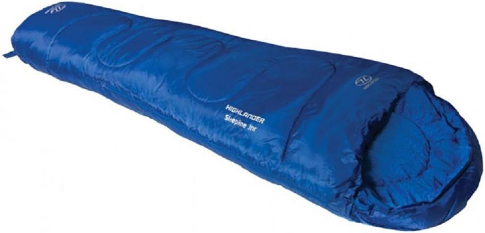 Mummy Style Junior Bags for Summer Camping or Sleepovers Highlander Kids Creature Sleeping Bag