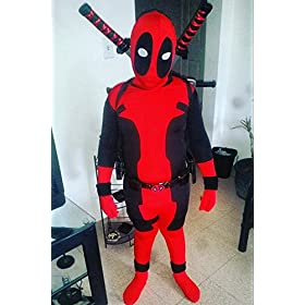 - 51w1xjpBzTL - AOVEI Lycra Spandex Zentai Halloween Onesie Kids Cosplay Costumes Costume