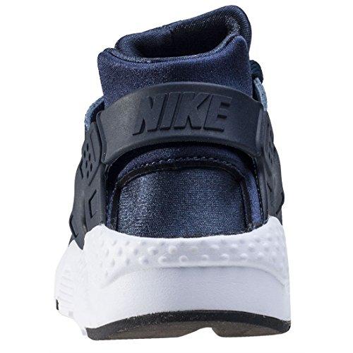 Nike Fille Air Huarache entraîneurs Taille unique obsidian-obsidian-black-white (654275-410) lqz2A