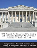 Crs Report for Congress, Jeffrey W. Seifert, 1295254484