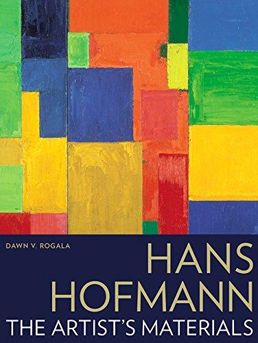 Modern Art Abstract Painting Portrait (Hans Hofmann: The Artist's Materials)