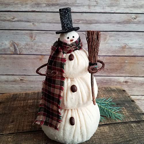 Snowflake Dad Primitive Folk Art Winter Holiday Christmas Snowman Decor
