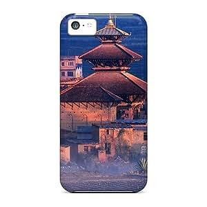 Excellent Design Panauti At Sunrise Bagmati Nepal Case Cover For Iphone 5c
