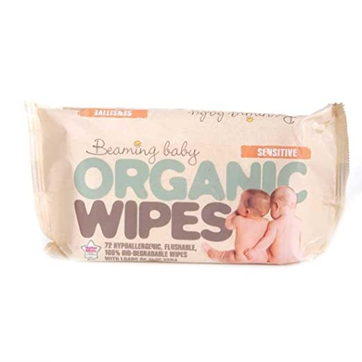 Beaming Baby | Organic Baby Wipes | 7 x 72: Amazon.es: Alimentación y bebidas