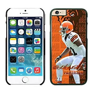 NFL ClevelandBrowns Dimitri Patterson Black 4.7 inches63810_54181 6 iphone case