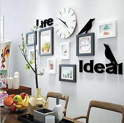 Hjky cornice set di un arredamento moderno bianco quadri da ...