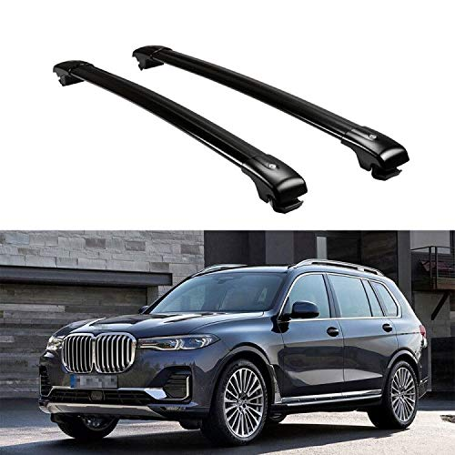 Chebay Crossbar Cross bar Roof Rail Rack Luggage Carrier Fits for BMW X7 Holder Baggae Carrier