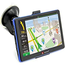 Portable 7 inch 8GB Capacitive Touchscreen Car GPS Navigation System sat nav with Lifetime Maps
