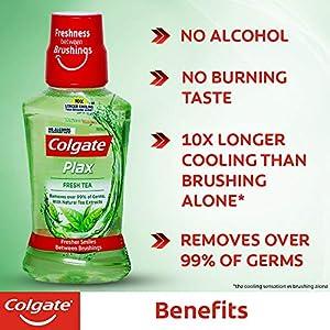 Colgate Plax Mouthwash – 250ml (Fresh Tea)