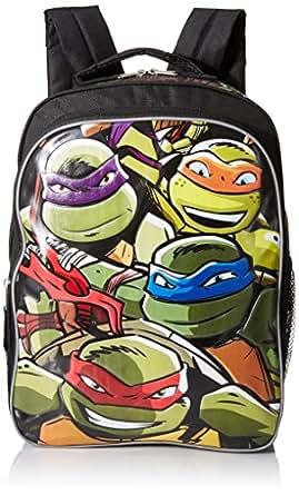 Teenage Mutant Ninja Turtles Boys' 16 Inch Backpack Lean Mean Green, Multi, One Size