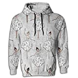 Mens 2017 Cool Ballet Hoodie Design Crazy Sweatshirt Hip Hop Guys Hoodie Sweatshirt