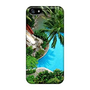 Slim Fit Tpu Protector Shock Absorbent Bumper Cases For Iphone 5/5s