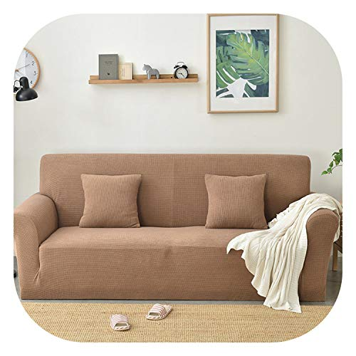 Fanatical-Night New Set of Elastic Fabric Sofas from LICRA Universal All-Inclusive Sofa Cover All European Towel Summer Leather Sofa Cushion Slip,HYYX-YLRSFT-TGK,XL Code -