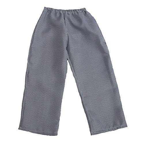 Storybook Wishes Unisex Chef Houndstooth Pants, Size 2/4 ()