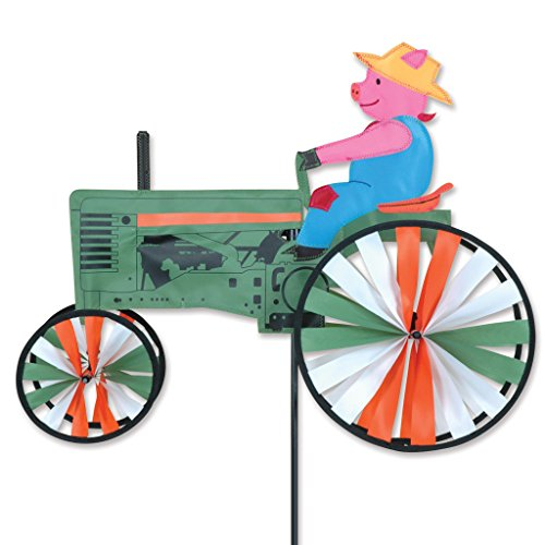 (Premier Kites 22 in. Pig On A Tractor Spinner)