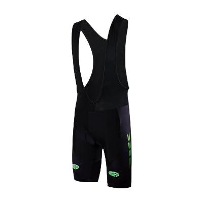 FASTCURE 2016 Active Sportswear Men's 3D Padded Bib Cycling Shorts