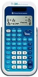Texas Instruments TI-34 MultiView Scientific Calculator (2-Pack)