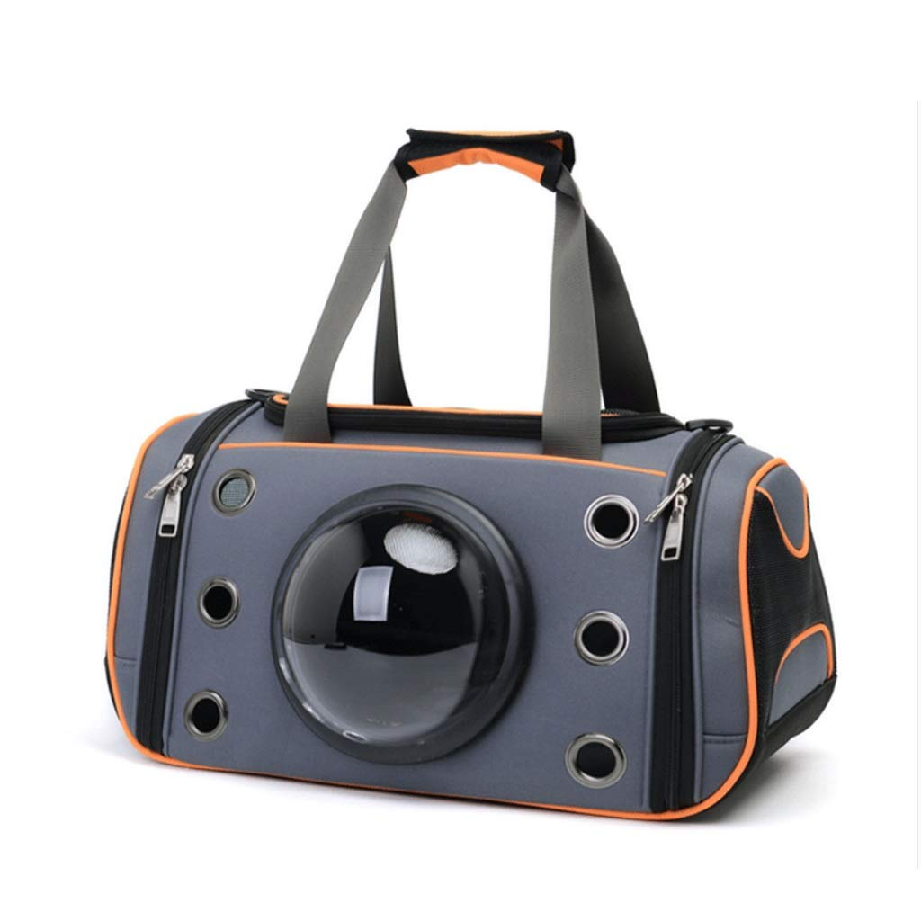2019 Newly Designed-Pet Space Capsule Carrier Backpack, Pet Bubble Dome Traveler Knapsack Multiple Air Holes Waterproof Bag,Suitable for Outdoor Travel Walking Hiking