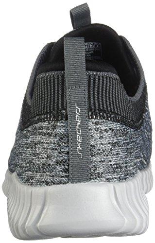 Skechers Elite Flex - Hartnell Gray/Black Mens Sneakers Size 10W