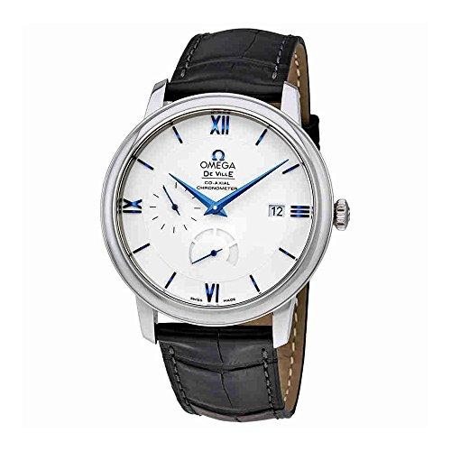 Omega-De-Ville-Prestige-Silver-Dial-Mens-Watch-42453402104001