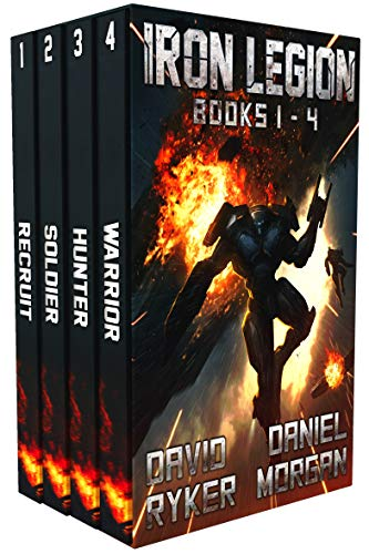 Iron Legion Books 1 - 4